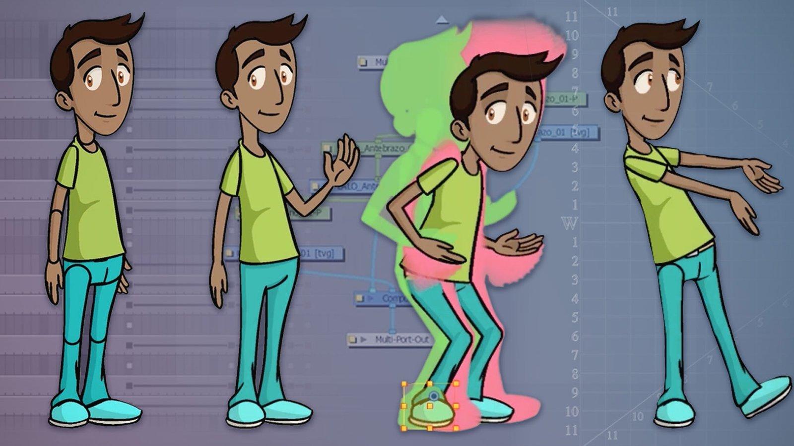 Animación 2D Toon Boom